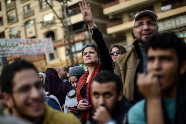 Mısır'da darbe karşıtı cuma gösterileri 13