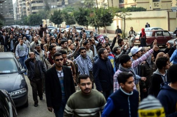 Mısır'da darbe karşıtı cuma gösterileri 2