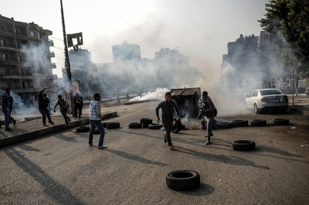 Mısır'da darbe karşıtı cuma gösterileri 5