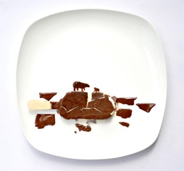 En renkli yemek tabakları 10