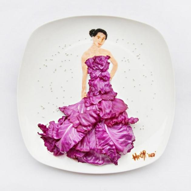 En renkli yemek tabakları 14