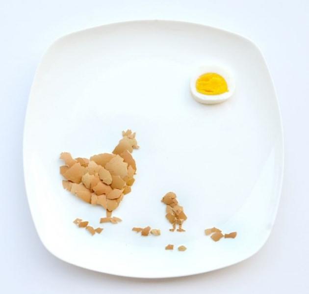 En renkli yemek tabakları 16