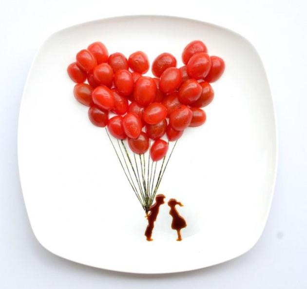 En renkli yemek tabakları 17