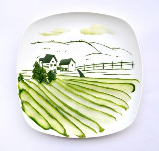 En renkli yemek tabakları 2