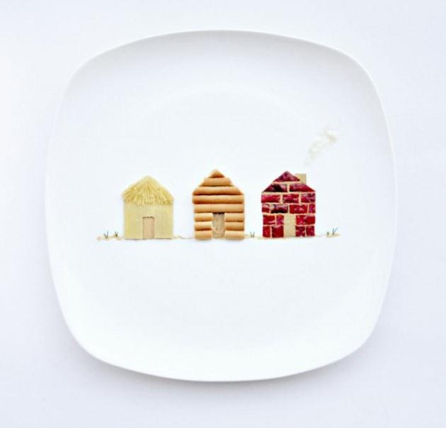En renkli yemek tabakları 20