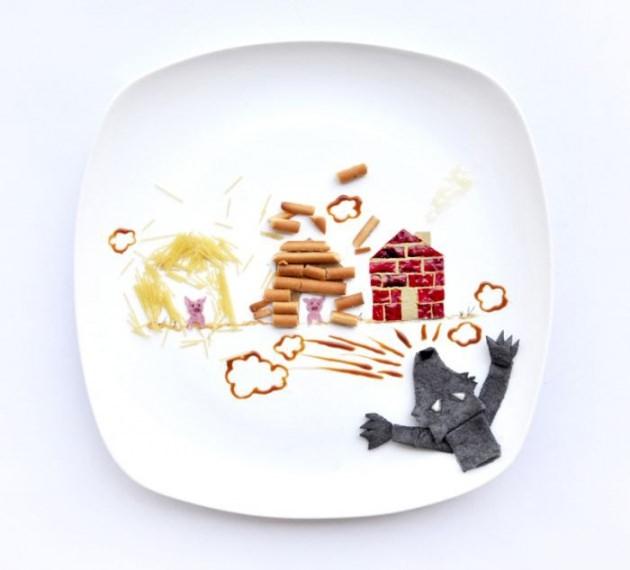 En renkli yemek tabakları 21