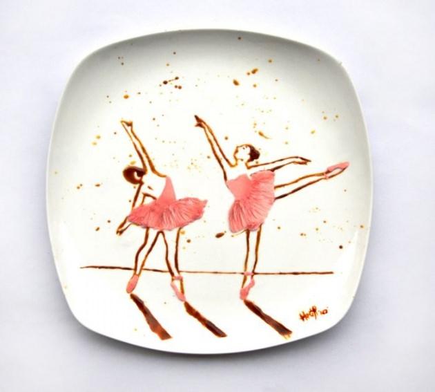 En renkli yemek tabakları 5