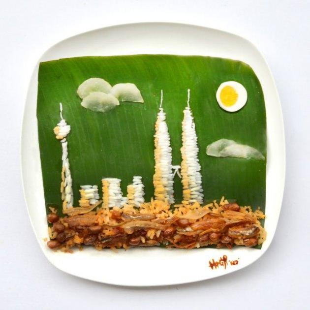 En renkli yemek tabakları 7