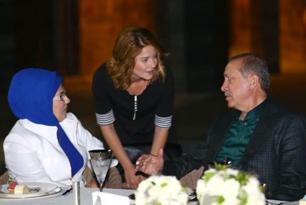 Erdoğan sporcu ve sanatçılarla buluştu 10