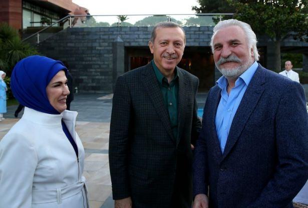 Erdoğan sporcu ve sanatçılarla buluştu 11