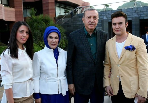 Erdoğan sporcu ve sanatçılarla buluştu 12