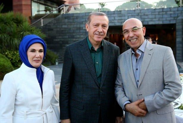Erdoğan sporcu ve sanatçılarla buluştu 14