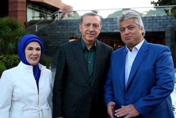 Erdoğan sporcu ve sanatçılarla buluştu 15