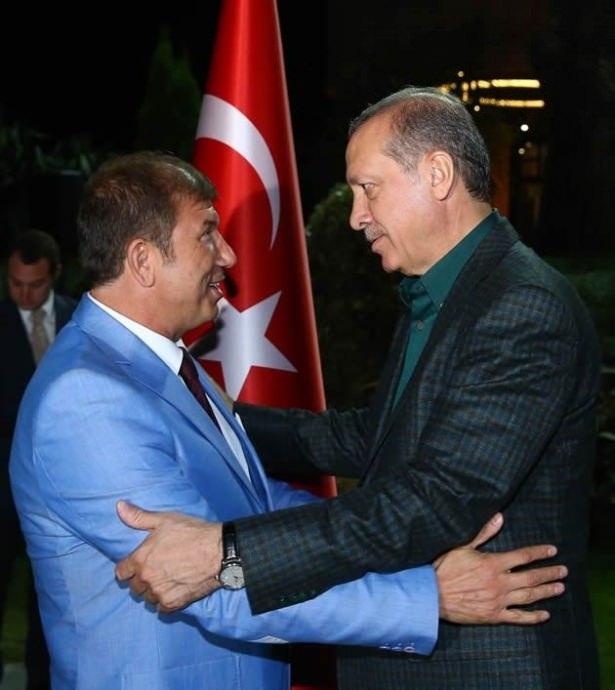 Erdoğan sporcu ve sanatçılarla buluştu 16