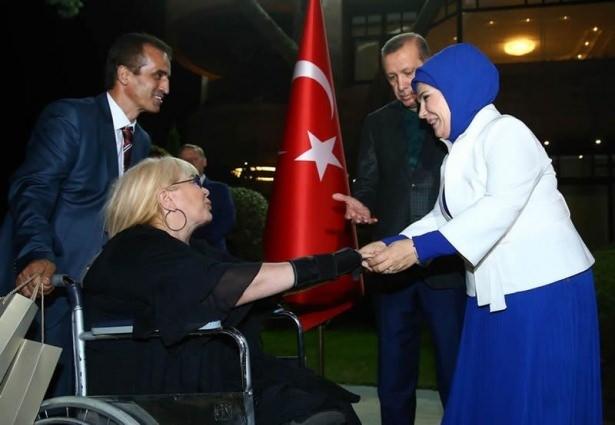 Erdoğan sporcu ve sanatçılarla buluştu 18