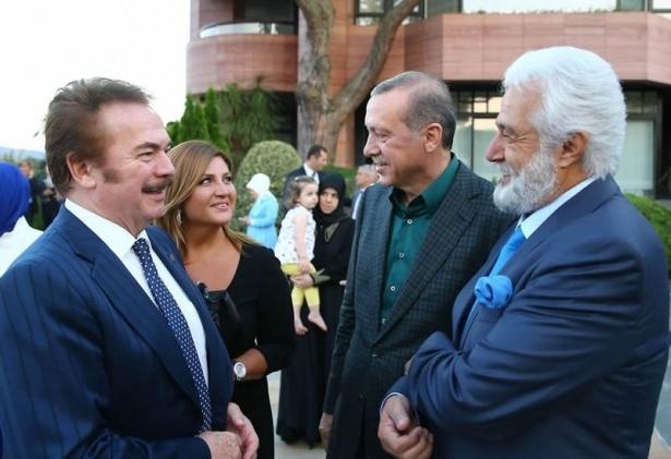 Erdoğan sporcu ve sanatçılarla buluştu 20