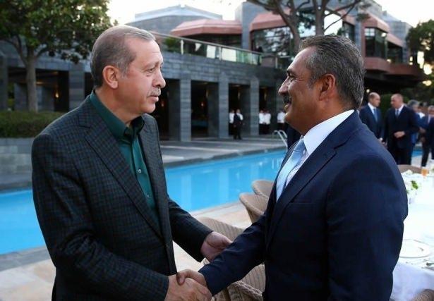 Erdoğan sporcu ve sanatçılarla buluştu 21