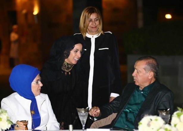 Erdoğan sporcu ve sanatçılarla buluştu 22