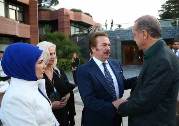 Erdoğan sporcu ve sanatçılarla buluştu 23