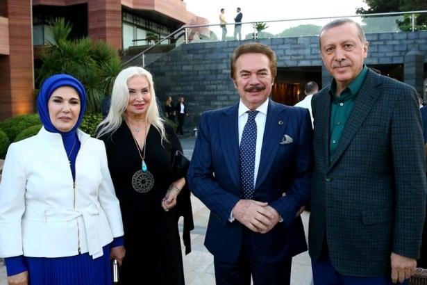 Erdoğan sporcu ve sanatçılarla buluştu 25