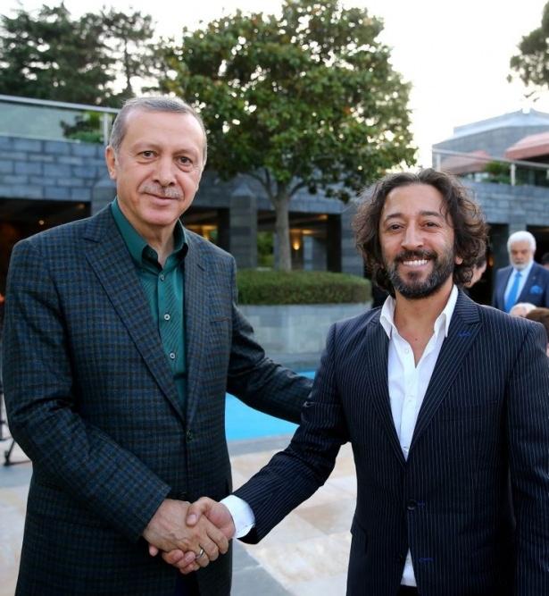 Erdoğan sporcu ve sanatçılarla buluştu 27