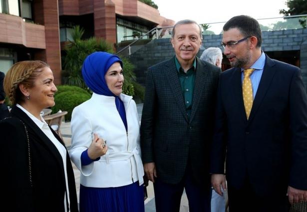 Erdoğan sporcu ve sanatçılarla buluştu 3
