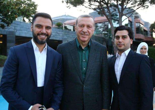 Erdoğan sporcu ve sanatçılarla buluştu 33