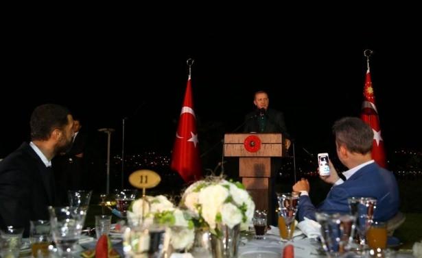 Erdoğan sporcu ve sanatçılarla buluştu 36