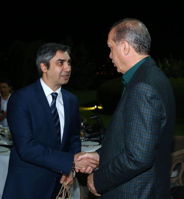 Erdoğan sporcu ve sanatçılarla buluştu 38