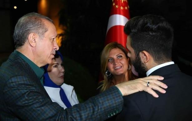 Erdoğan sporcu ve sanatçılarla buluştu 5