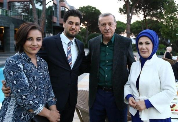 Erdoğan sporcu ve sanatçılarla buluştu 6
