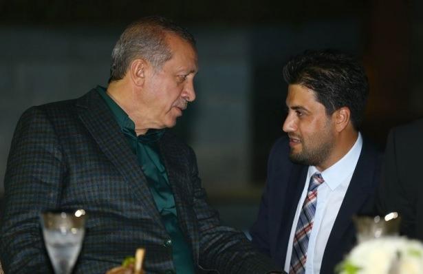 Erdoğan sporcu ve sanatçılarla buluştu 8