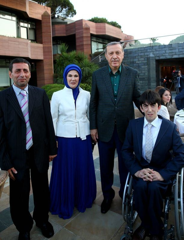 Erdoğan sporcu ve sanatçılarla buluştu 9