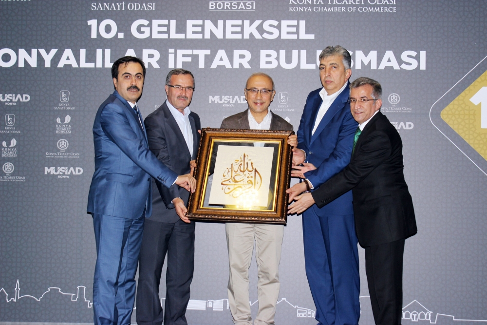 Konya Başkent'te buluştu 5