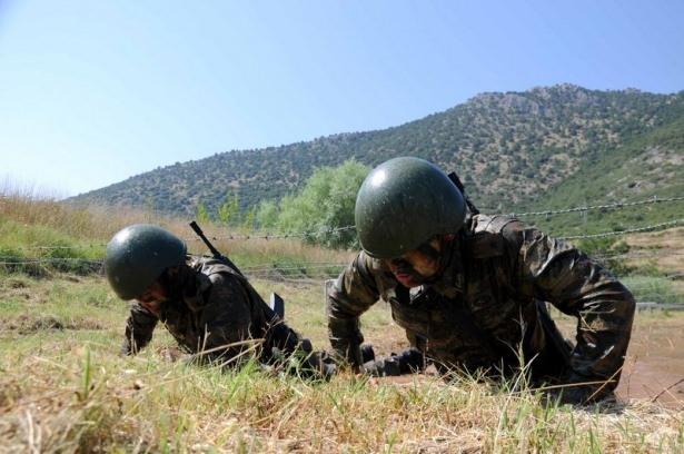 Türk komandosunun zorlu eğitimi 14