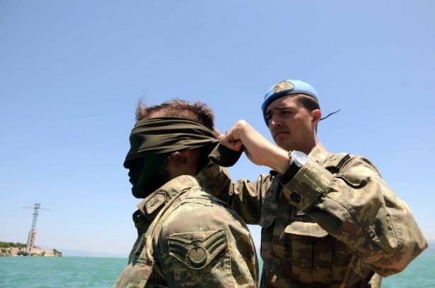 Türk komandosunun zorlu eğitimi 15