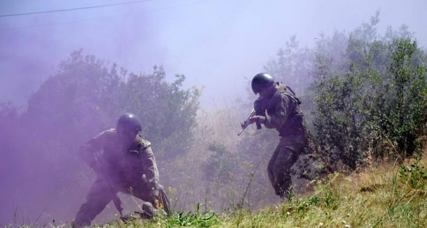 Türk komandosunun zorlu eğitimi 28