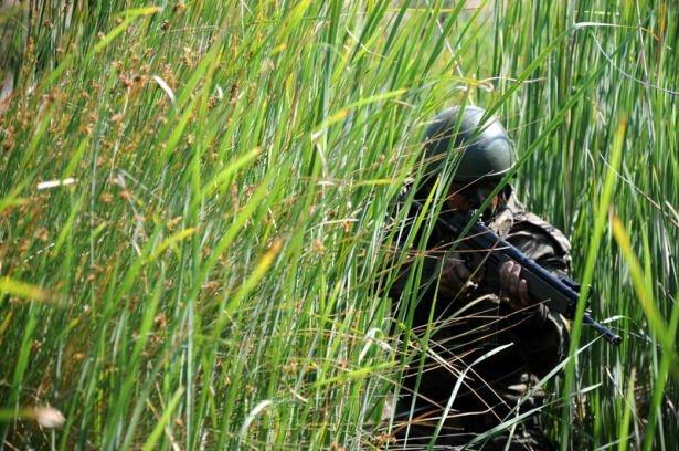Türk komandosunun zorlu eğitimi 3