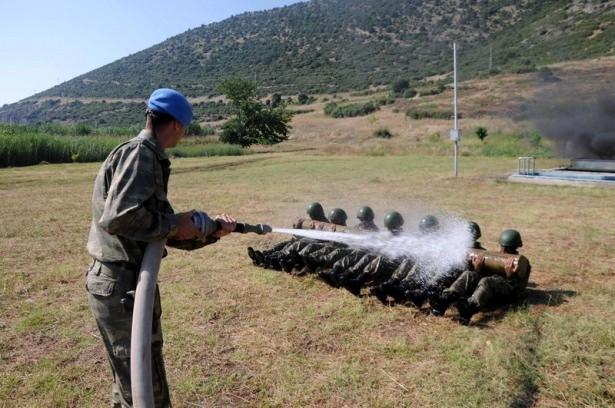 Türk komandosunun zorlu eğitimi 6