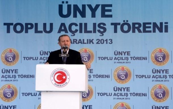 Başbakan Erdoğan Karadeniz'de 7