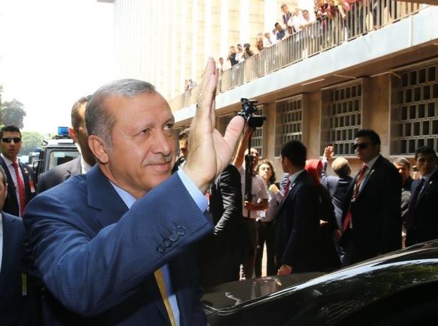Erdoğan Endonezya'da Cuma namazı kıldı 15