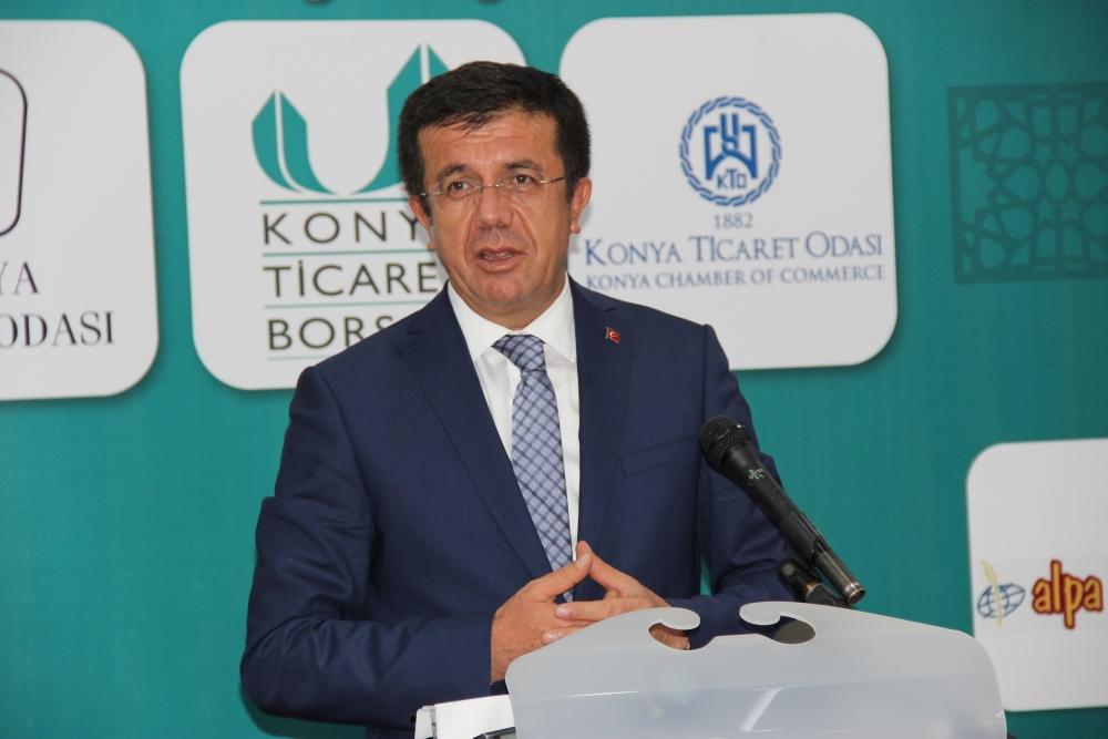 Bakan Nihat Zeybekçi'den Konyalı firmalara ödül 2