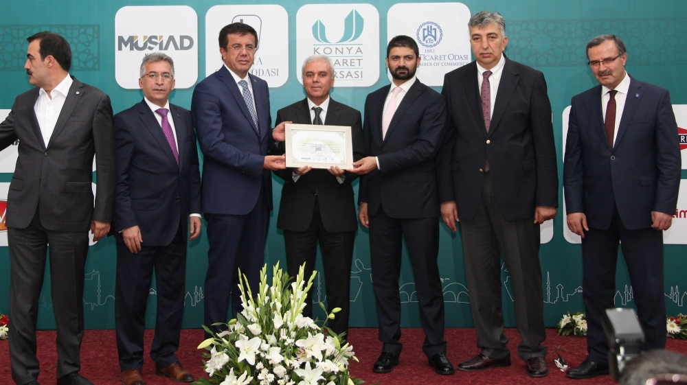 Bakan Nihat Zeybekçi'den Konyalı firmalara ödül 20
