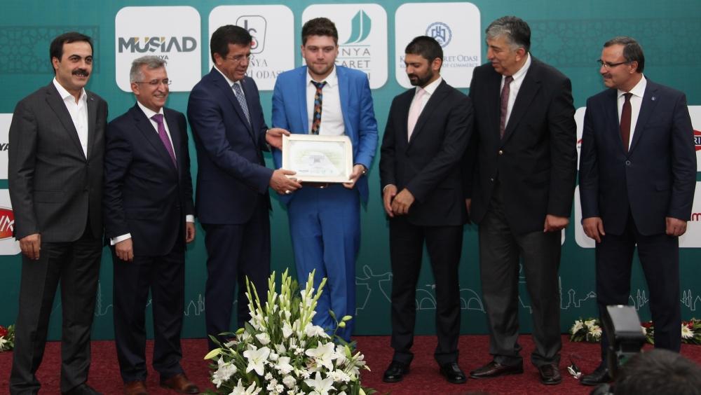 Bakan Nihat Zeybekçi'den Konyalı firmalara ödül 21