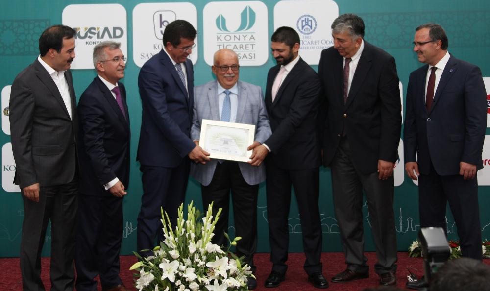 Bakan Nihat Zeybekçi'den Konyalı firmalara ödül 22