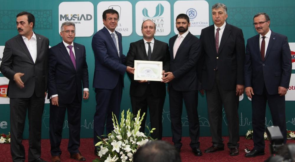 Bakan Nihat Zeybekçi'den Konyalı firmalara ödül 23