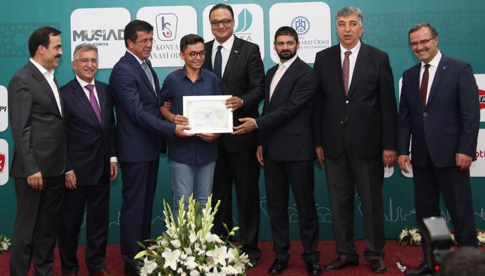 Bakan Nihat Zeybekçi'den Konyalı firmalara ödül 27
