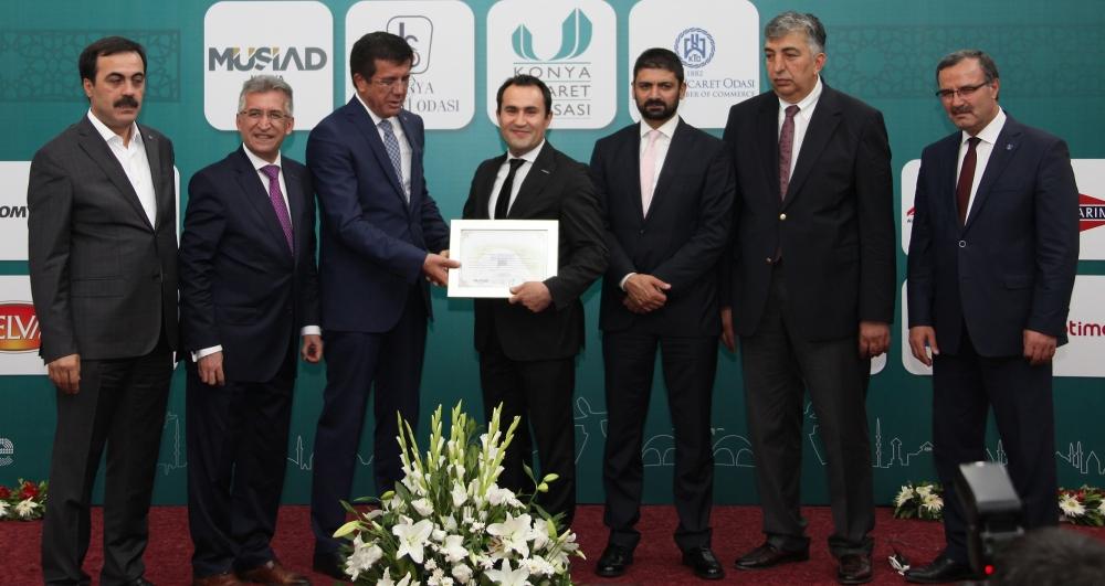 Bakan Nihat Zeybekçi'den Konyalı firmalara ödül 28