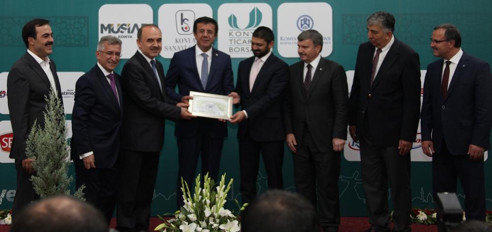 Bakan Nihat Zeybekçi'den Konyalı firmalara ödül 30