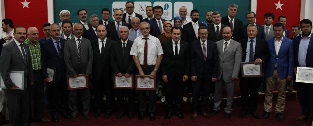 Bakan Nihat Zeybekçi'den Konyalı firmalara ödül 31
